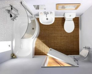 Read more about the article Here's How You Can Make Your Small Bathroom Look Bigger